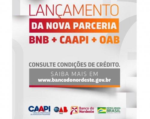 Parceria com BNB disponibiliza linhas de crédito para advocacia
