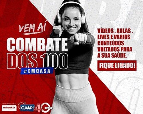 CAAPI lança a segunda edição do programa Combate dos 100 em comemoração aos seus 40 anos