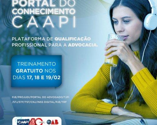 CAAPI oferece curso gratuito de capacitação em sistemas jurídicos; inscreva-se já
