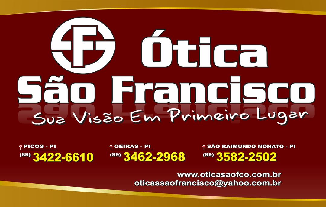 ÓTICA SÃO FRANCISCO – PICOS